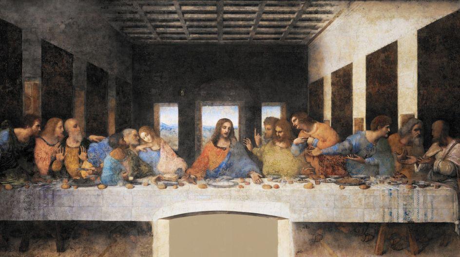 """Историческая притча о создании """"Тайной Вечери"""" Леонардо да Винчи"""