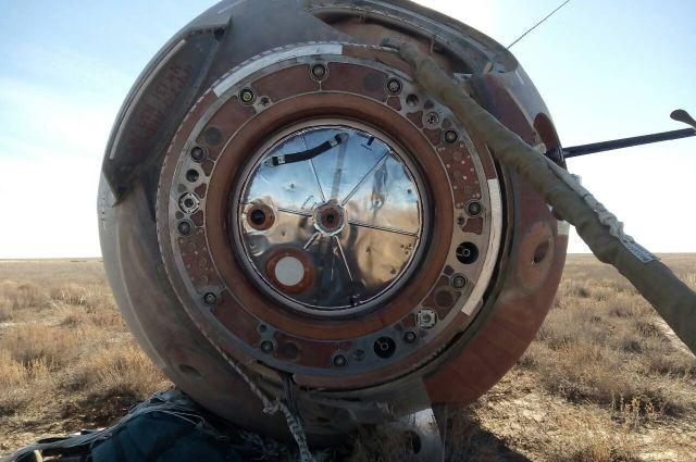 Экологические пробы с места аварии «Союза» в Казахстане соответствуют норме