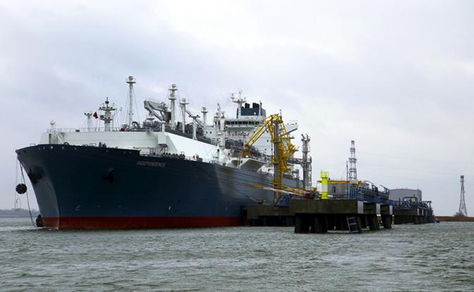 Американский газ-убийца разоряет Литву