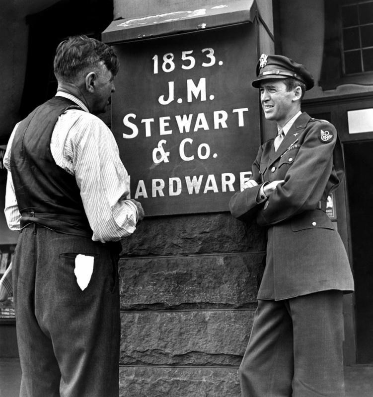 Джимми Стюарт— герой войны интересное,интересные факты,история,паранормальное,ужас,факты,шок