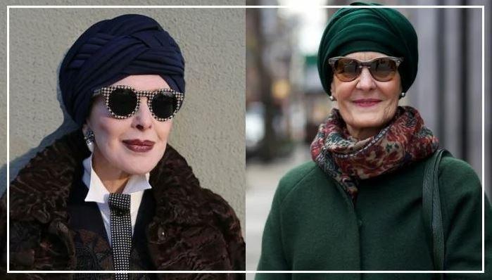 Стильные головные уборы для женщин 50+