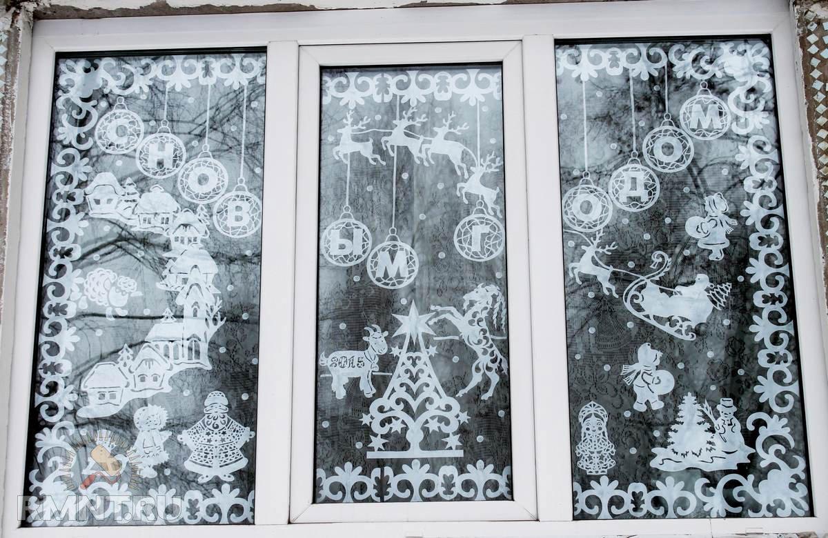последнем как делать украшения на окна картинки метели это только