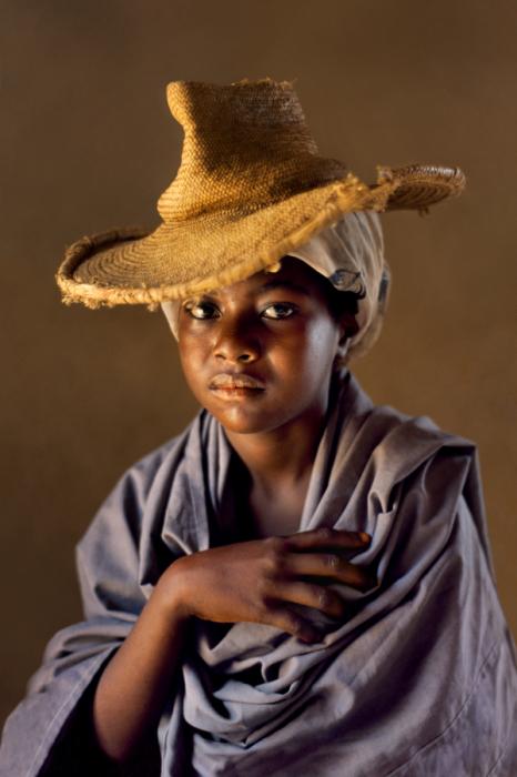 Портрет женщины, Йемен, 1997 год. Автор: Steve McCurry.