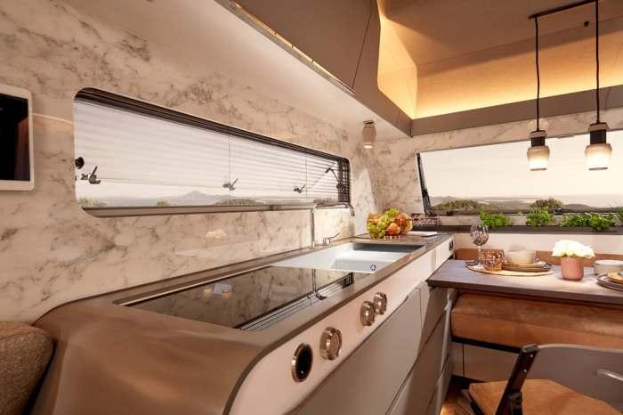 Особой похвалы достойно оснащение и дизайн кухни.