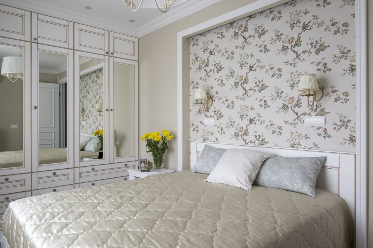 Дизайн спальни в хрущевке: модернизируем старину | 50 фото