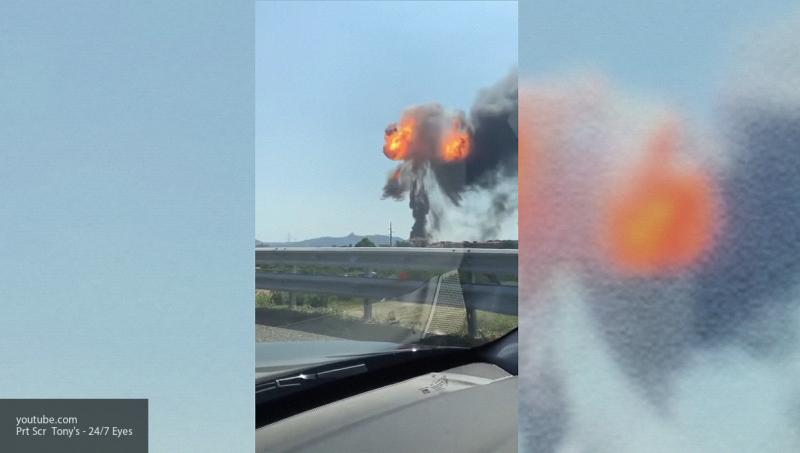 При взрыве бензовоза у аэропорта Болоньи пострадали более 50 человек, есть погибший