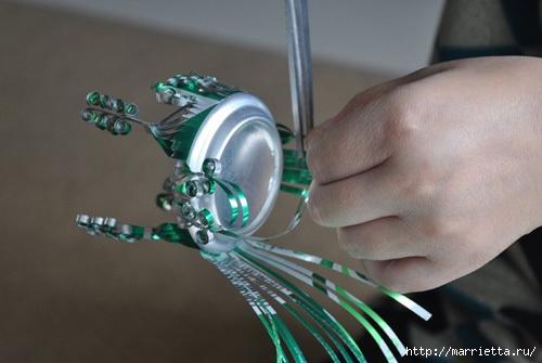 Поделки из алюминиевой банки своими руками