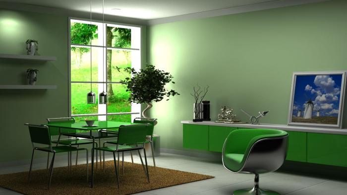 Нежные тона и оттенки в сочетании с яркими элементами отделки мебели – прекрасное решение для квартиры студии.