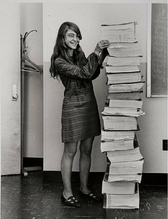 Маргарет Гамильтон: девушка-гений, без которой не состоялся бы полет на Луну Маргарет Гамильтон, история, космос, луна, люди, посадка