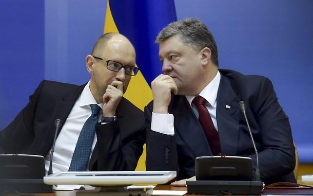 Украина просит Евросоюз помочь избавиться от Порошенко и Яценюка