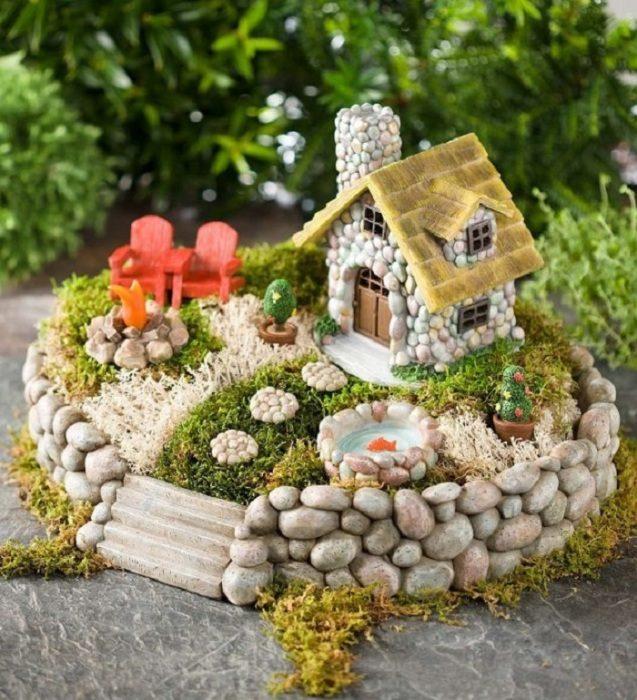 Украшение садово-дачного участка с помощью камней