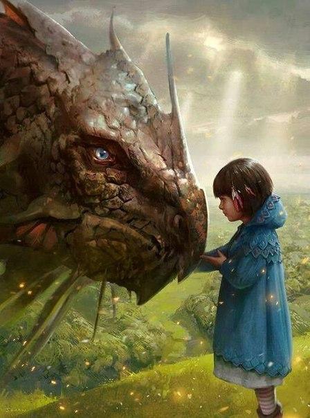 """Английская сказка """"Полезный дракон"""""""