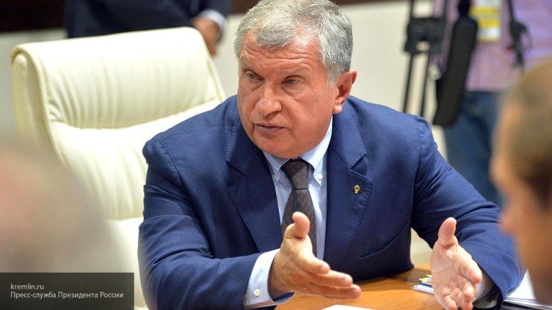 """Глава """"Роснефти"""" заявил, что США превратились в тормоз мировой экономики"""