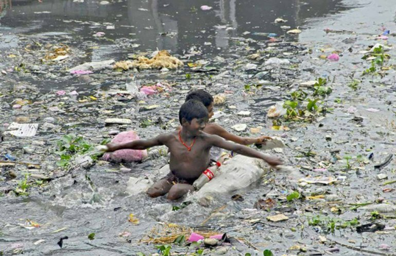 Где находится самая грязная река в мире?