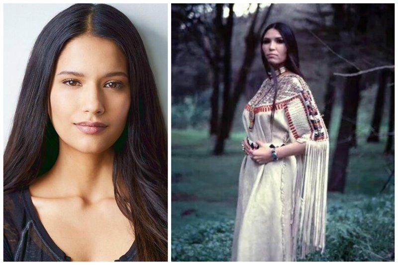 Самые прекрасные цветы прерий – из прошлого до наших дней женщины, индейцы, красота, племена, прерии