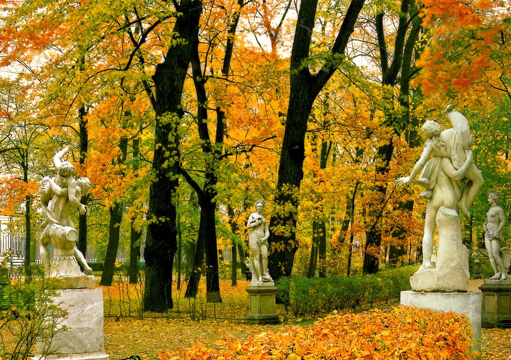 Золотая осень в Летнем саду