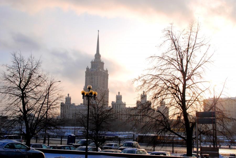 Зимняя Москва глазами иностранцев