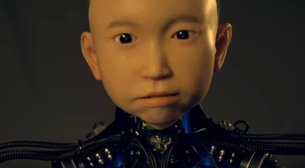Хироси Исигуро создал андроида с лицом десятилетнего мальчика
