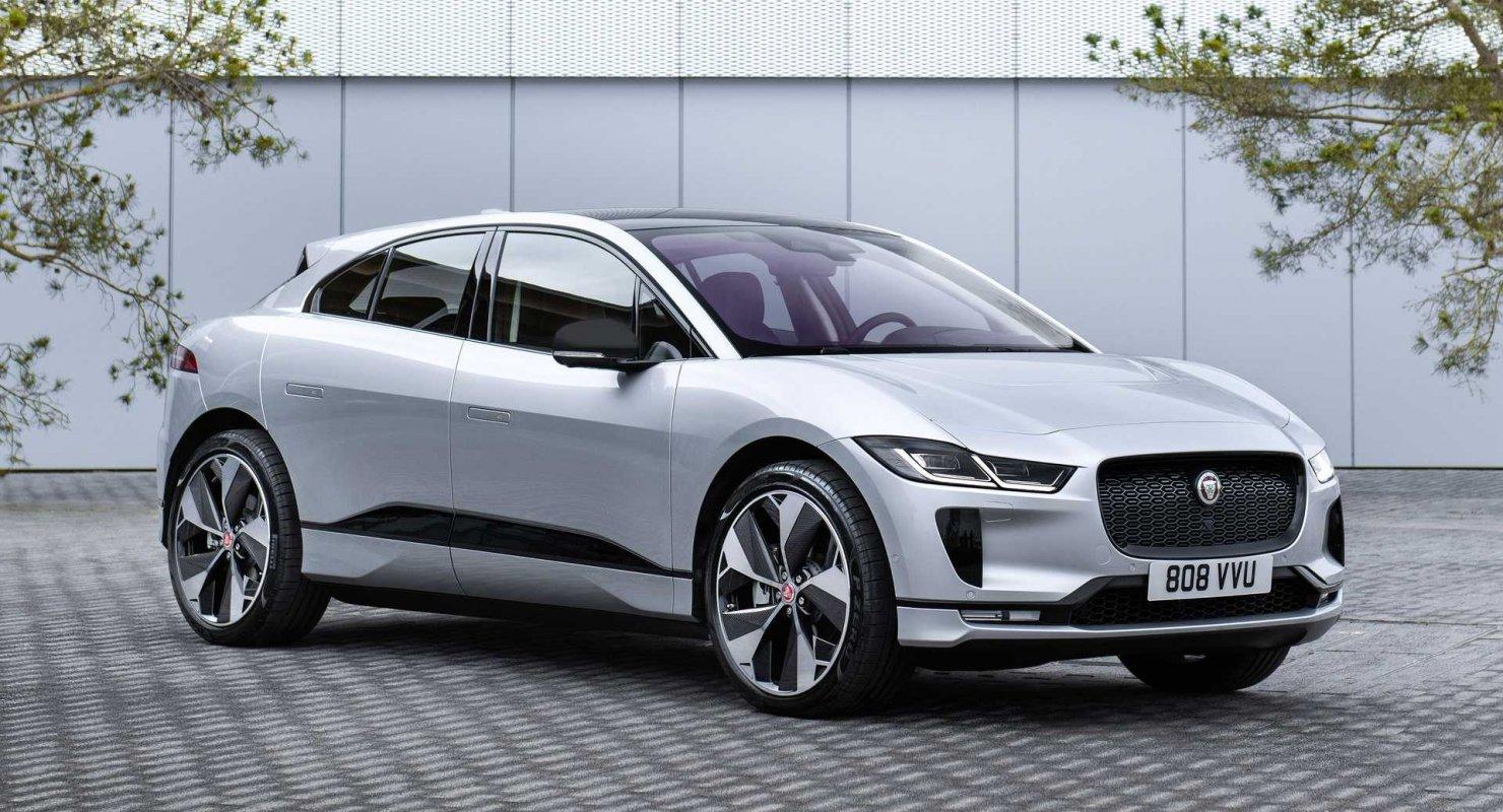 Jaguar I-Pace Black Edition дебютирует с привлекательными акцентами Автомобили