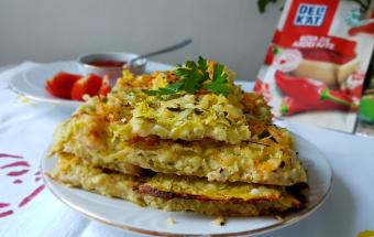 Запеканка с кабачками и сыром