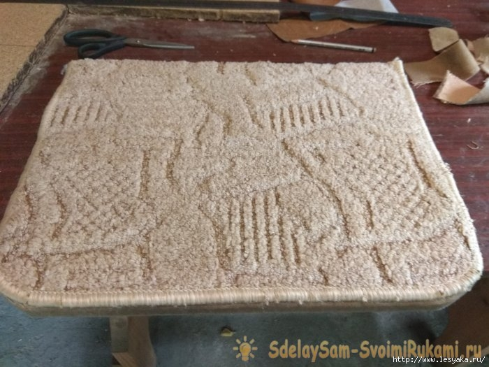Изготовление кошачьей когтеточки своими руками мастер класс, своими руками