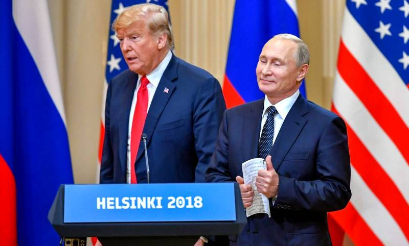 Что произошло на встрече Путина и Трампа