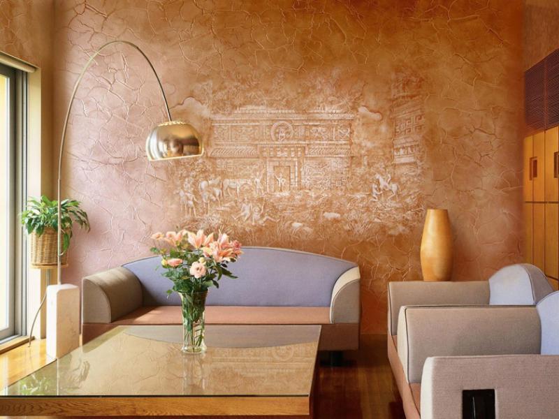 Стены тоже хотят быть красивыми, или декоративная штукатурка