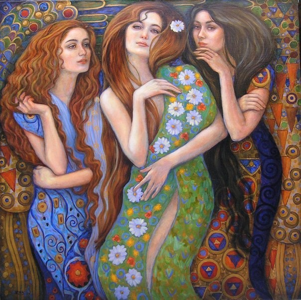 Три сестры и злая Судьба. Притча