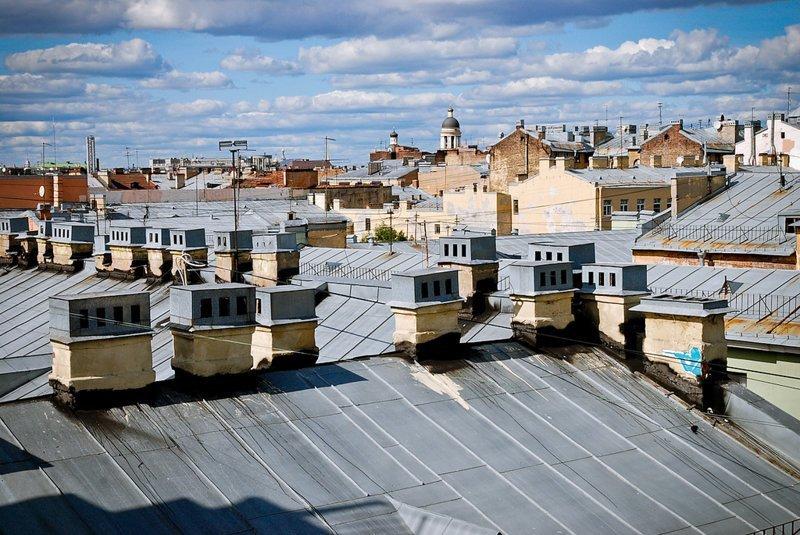 Эти манящие крыши Санкт-Петербурга Книги