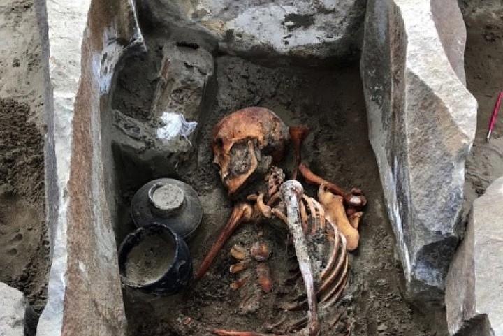 В зоне затопления Саяно-Шушенской ГЭС нашли мумию