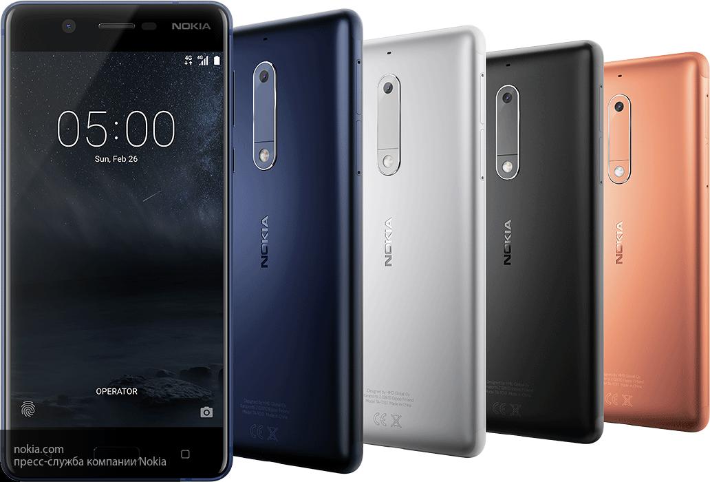 Стали известны российские цены на безрамочный смартфон Nokia 5.1