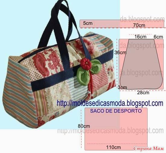 Моделирование вместительных сумочек из ткани 1