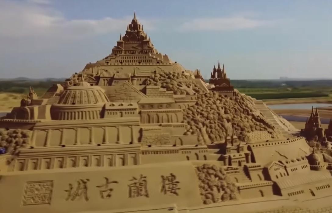 Сыпучие шедевры: скульптура из песка