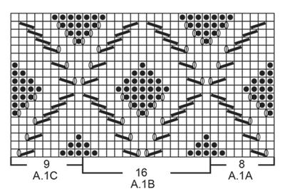 Ажурный джемпер вязаный спицами от Drops Design (6 размеров)
