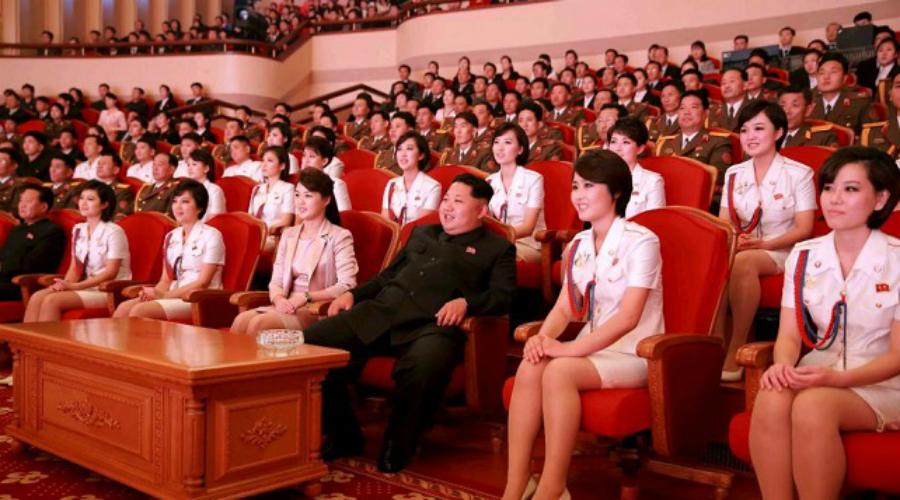 Личная женская гвардия Ким Чен Ына: девушки охраняют сон вождя