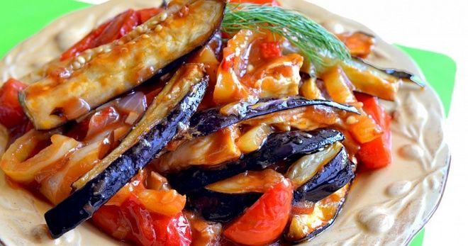 Картинки по запроÑу Блюдо, которое не выÑтупает «пуÑтым» гарниром: Соте из баклажанов — полноценный ужин