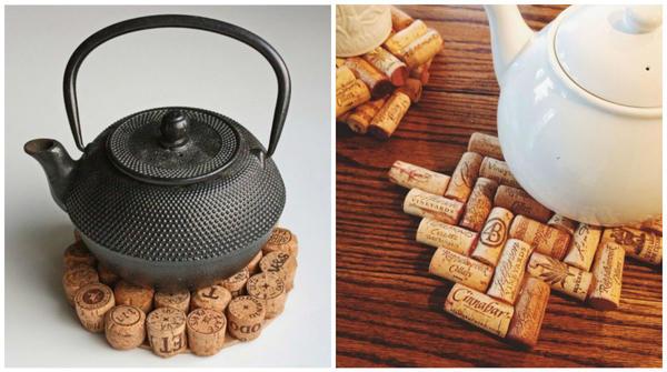 Подставка под горячее может быть любой формы - все зависит от вашего желания фото сайта ru.pinterest.com
