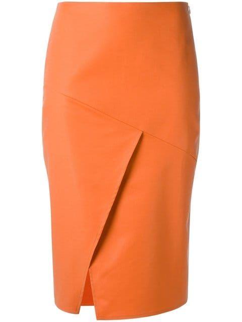 Купить Andrea Marques юбка-карандаш с панельным дизайном.