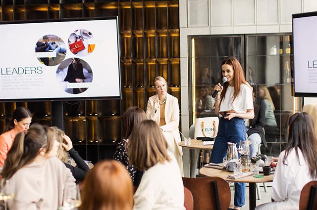 Ксения Собчак, Снежана Георгиева, Наталья Максимова и другие на презентации в Москве Светская жизнь