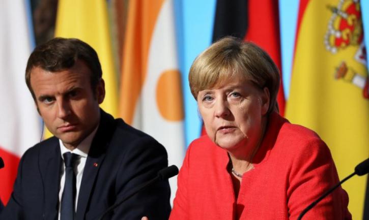«Срочно нужна помощь»: Меркель и Макрон воззвали к Путину