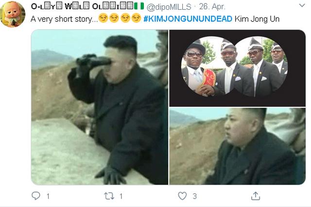 """""""Скорее жив, чем мертв"""": как в сети отреагировали на """"исчезновение"""" Ким Чен Ына Медиа"""