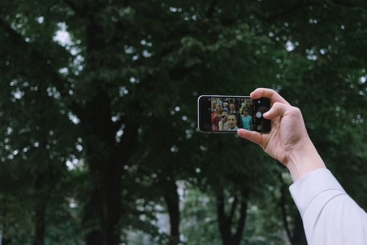 Фотограф эстонка засняла свою свадьбу