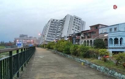 На Тайване растет число жертв разрушительного землетрясения