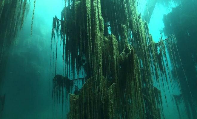 И над нами километры воды: подводное погружение в горах Тянь-Шаня дайверы,дайвинг,Тань-Шань