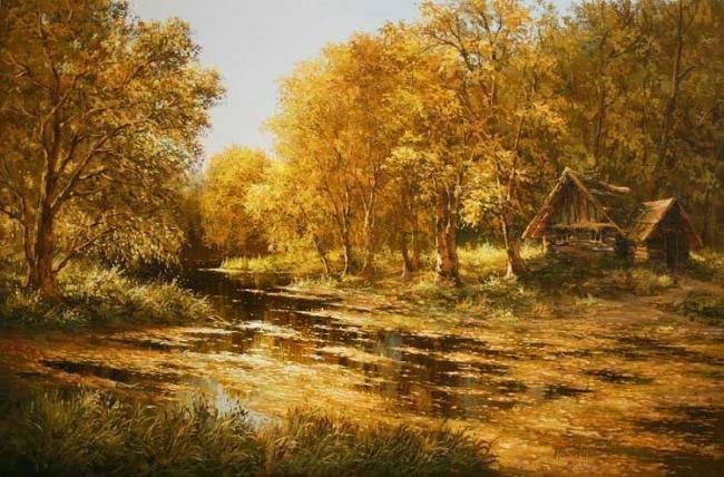 Солнечное творчество художника Михаила Иваненко живопись