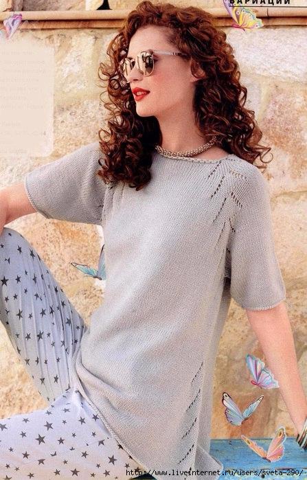 Лаконичный и женственный пуловер