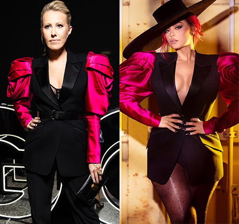 Модная битва: Ксения Собчак против Биби Рексы