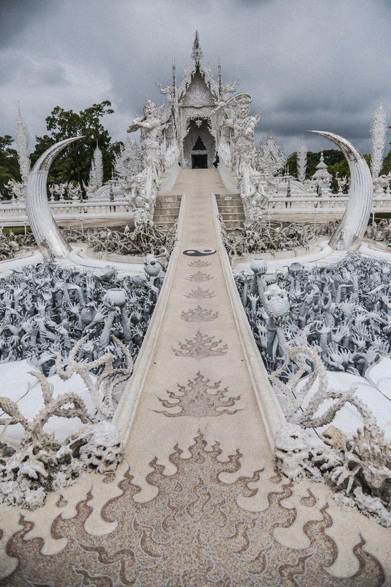 Прохождение ада на пути в рай символизирует буддийский путь к просветлению архитектура, буддизм, достопримечательность, путешествие, таиланд, фотомир, храм