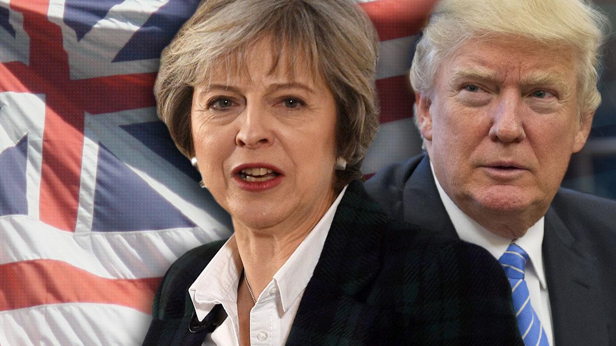 Трамп ищет поддержку в лице Великобритании