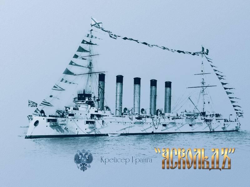 """О прорыве крейсеров """"Аскольд"""" и """"Новик"""" в бою 28 июля 1904 года"""